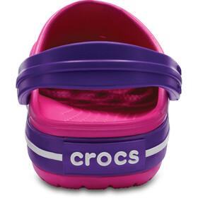 Crocs Crocband Clogsit Lapset, paradise pink/amethyst